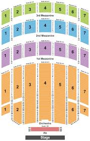 Radio City Music Hall 3d Seating Chart Buy Josh Groban Tickets Front Row Seats
