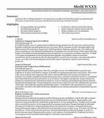 Tech Support Resume This Cv Technical Helpful Portrait And Executive