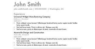 Good Template For Resume Commily Com