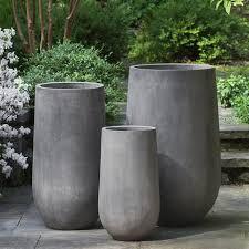 large cement planters. Large Cement Planters E