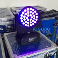 Us 1558 26 Best 10wx36 Rgbwauv Led Zoom Moving Head Wash Stage Lights Dmx512 Control Church Stage Head Effect Fixture Dj Lighting Equipment In Stage