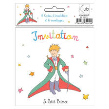 Cartes Dinvitation Le Petit Prince En Costume De Gala La Boutique