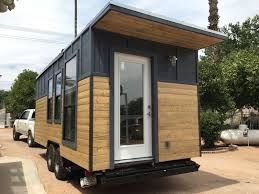 Small Picture This is a modern industrial tiny house on wheels Its located in