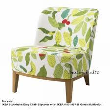 ikea cover ikea stockholm easy chair blad green multi slipcover bnob 901 093 88