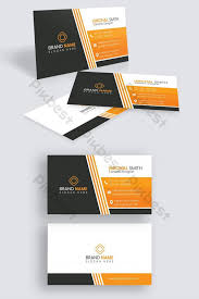 Creative Modern Business Card Template Free Download