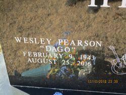 "Wesley Pearson ""Dago"" Hill (1943-2016) - Find A Grave Memorial"