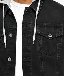 empyre mens hoos sweatshirts sidecar black denim grey knit vest hoo grey