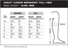junior size ariat bromont junior tall h20 non insulated black redpost equestrian