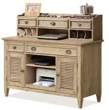congenial hutch writing desk credenza then hutch by riverside furniture plus writing desk credenza in corner