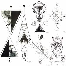 летний горячий треугольник геометрический черный горный водостойкий