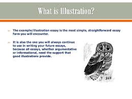 illustrative essays 2  the example illustration essay
