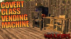7 Days To Die Vending Machine Cool COVERT CLASS VENDING MACHINE WotW MOD 48 Days To Die Let's Play