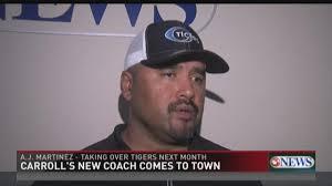 New Carroll Coach AJ Martinez Ready To Raise Tigers' Expectations |  kiiitv.com