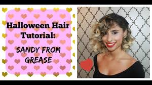 hair tutorial sandy from grease
