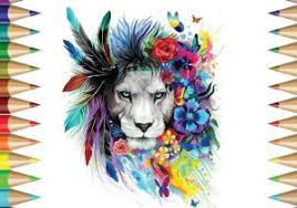 lion drawing color. Brilliant Lion Lion Color Drawing At Getdrawings  Free For Personal  Use Intended A