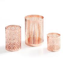 fine ornamental work defines danya b set of rose gold filigree