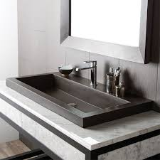 trough sink vanity single bathroom kohler drop in sinks best place to buy bathroom vanity r74