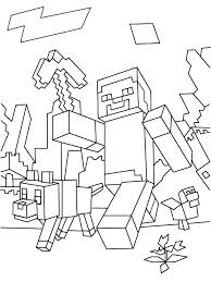 Minecraft Coloring Pages To Print Coloring Pages Printable For Girls
