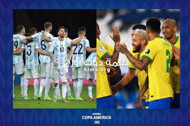 موعد نهائي كوبا أمريكا 2021 بين الأرجنتين والبرازيل والقنوات الناقلة للقاء  - كلمة دوت أورج