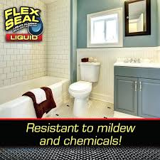 flex seal shower question is flex seal liquid mildew and chemical resistant answer yes