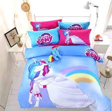 little pony bedding set my little pony bed blue my little pony princess cotton bedding sets