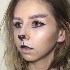simple lion makeup