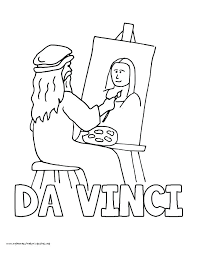 Small Picture Mona Lisa Coloring Page Corresponsablesco