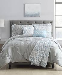 s l home fashions light blue gray