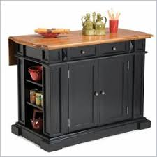 Kitchen islands with breakfast bar Seating Breakfast Bar Kitchen Island With Drop Down Shelf By Home Styles One Way Furniture Kitchen Islands Drop Leaf Breakfast Bars Kitchen Carts