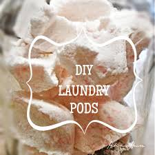 this diy is for making your already homemade laundry soap powder into a pod cube so it is more convenient if you are one that already makes your powdered