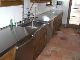 steel counter tops brushed stainless steel with turn down at sink stainless steel countertops ikea approximate