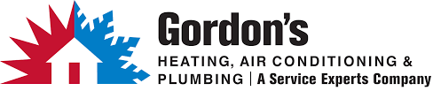 heating and air logo. gordon\u0027s service experts heating \u0026 air conditioning logo and o