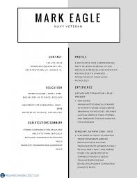 Veteran Resume Examples Strong Military Resume Examples Resume Examples 2019