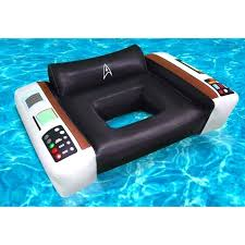 inflatable pool furniture. Pool Seat Float Star Trek Captains Chair Inflatable Chairs Canada Furniture
