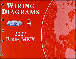 ford edge service manuals shop owner maintenance and repair 2007 ford edge lincoln mkx wiring diagram manual original
