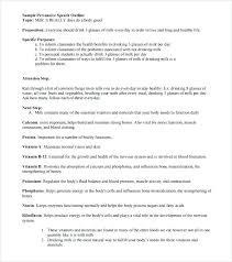 Business Presentation Outline Template