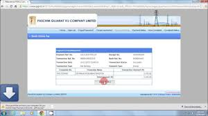 Ugvcl Light Bill Online Copy Download How To Electricity Online Bill Payment Pgvcl