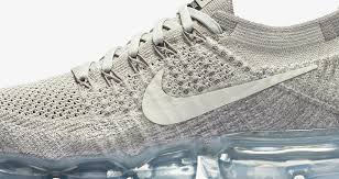 Nike Air Vapormax Flyknit Light Grey The Nike Air Vapormax Pale Grey Is Available Now Weartesters