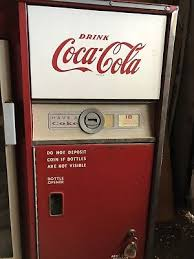 In Working Order As A Vending Machine Gorgeous ORIGINAL VINTAGE COCA Cola Bottled Vending Machine In Working