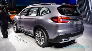 subaru 7 passenger 2018. beautiful passenger unlike the subaru viziv7 concept which automaker displayed at la  auto show last year ascent suv concept is a whole  on subaru 7 passenger 2018