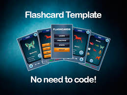 Flashcards Template Asset Store