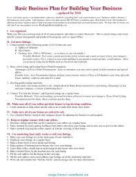 Marketing Business Plan Template Excellent The Market In Business Plan Marketing Business Plan 18