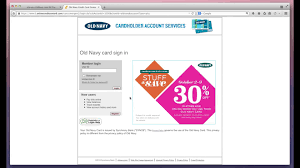 old navy credit card payment through eservice oldnavy page