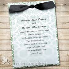 green floral black ribbon layered wedding invites iwfc037 Ribbon On Wedding Invitation green floral black ribbon layered wedding invites iwfc037 tying a ribbon on a wedding invitation