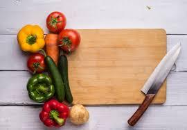 cutting board with food. Cutting Board With Food Free Photo Freepik