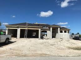 new construction 3 car garage cape c