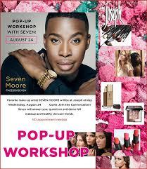 makeup pop up work with seven moore