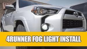 2018 Toyota 4runner Fog Light Bulb Size 2010 2019 Toyota 4runner Led Fog Lights Bulb Upgrade Install