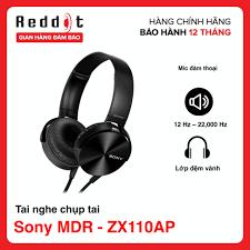 Tai nghe chụp tai Sony MDR - ZX110AP - Bảo hành chính hãng 12 tháng