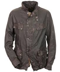 mens barbour sun leather jacket leather barbour